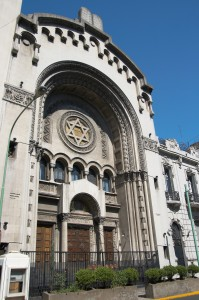Sinagoga Central in Buenos Aires, Argentina